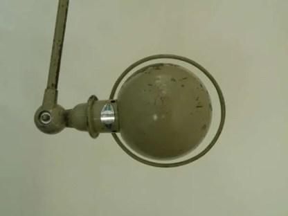 Jielde loft wandlamp detail kap b