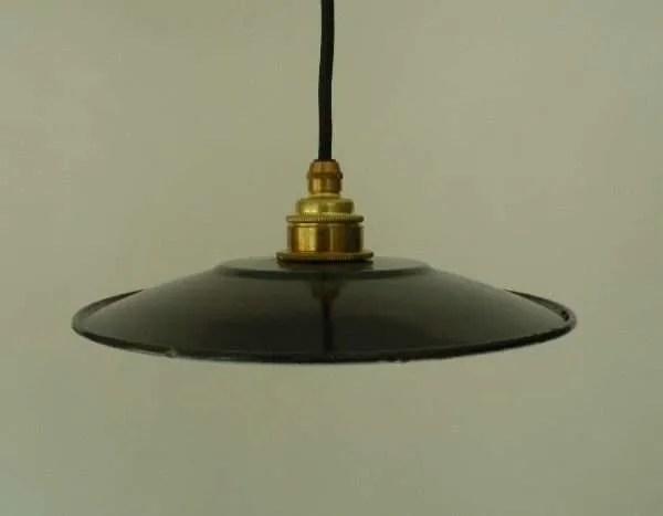 zwart geemaillleerde hanglampen 1