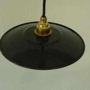 zwart geemaillleerde hanglampen 1b