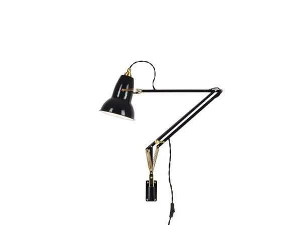 Original 1227 Messing wandlamp anglepoise Deep Slate 1