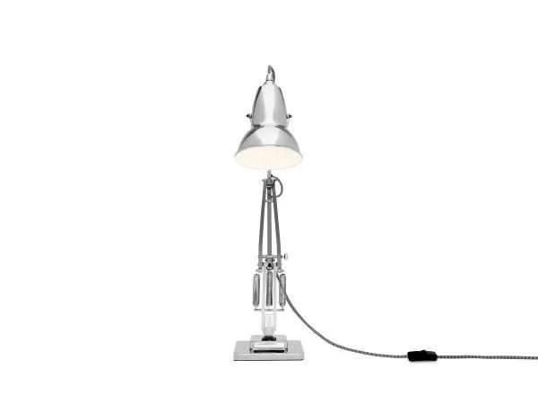 Original 1227 bureaulamp Bright Chrome w BW Cable 4
