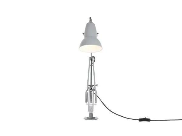 Original 1227 bureaulamp grijs met vaste voet 4