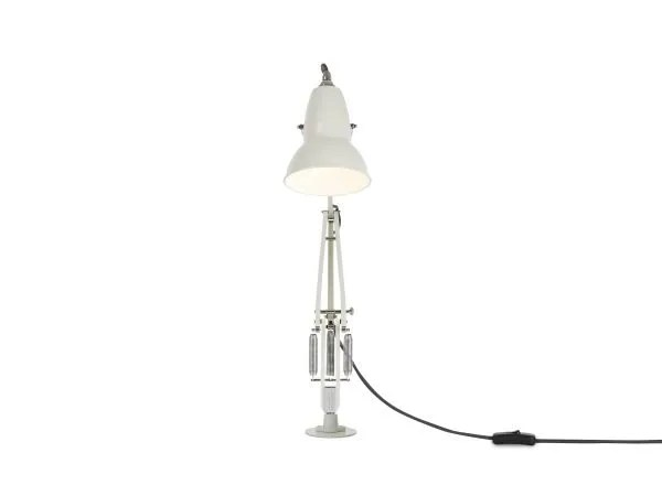 Original 1227 bureaulamp wit met vaste voet 4