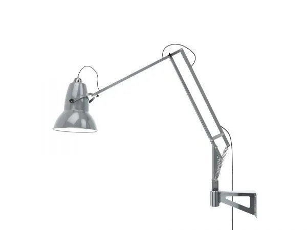 Original 1227 Giant Wall Mounted Lamp Dove Grey 4