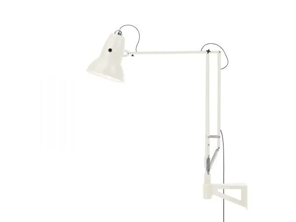 Original 1227 Giant Wall Mounted Lamp Linen White 4 (Gloss)