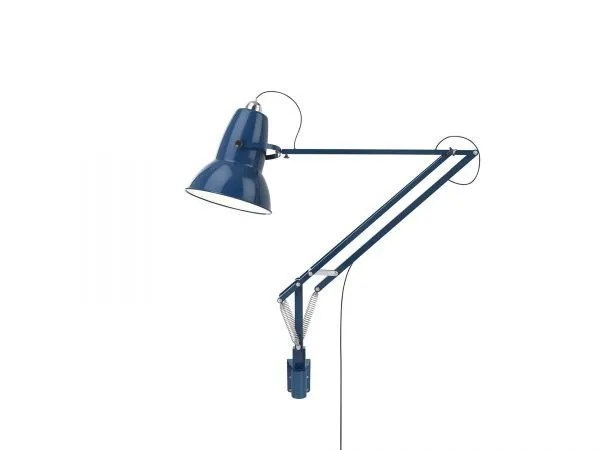 Original 1227 Giant Wall Mounted Lamp Marine Blue 1