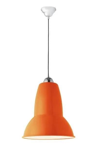 Original 1227 Gigant anglepoise hanglamp Fresh Orange