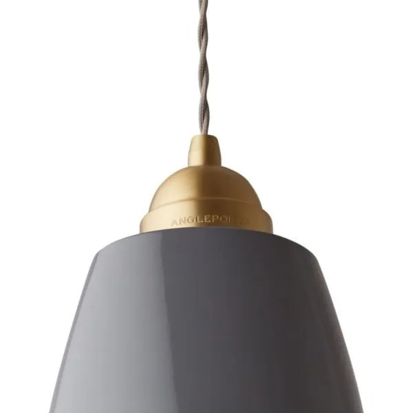 Original 1227 Messing Anglepoise XL hanglamp - Elephant Grey 2