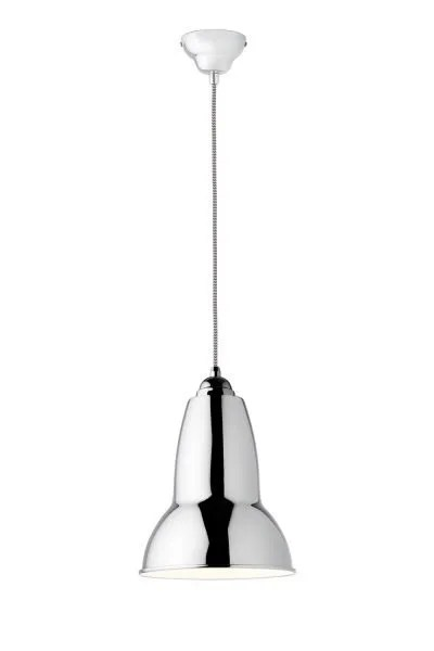 Original 1227 Midi Pendant -Alpine White w BW Cable 1Original 1227 Medium hanglamp anglepoise BINK lampen chroom