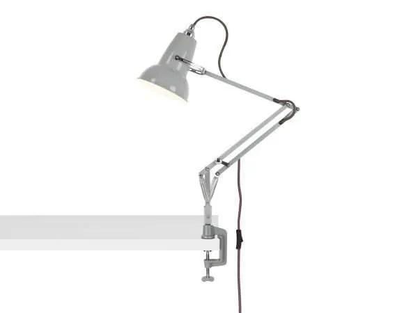 Original 1227 Mini bureau klemlamp Dove Grey 2