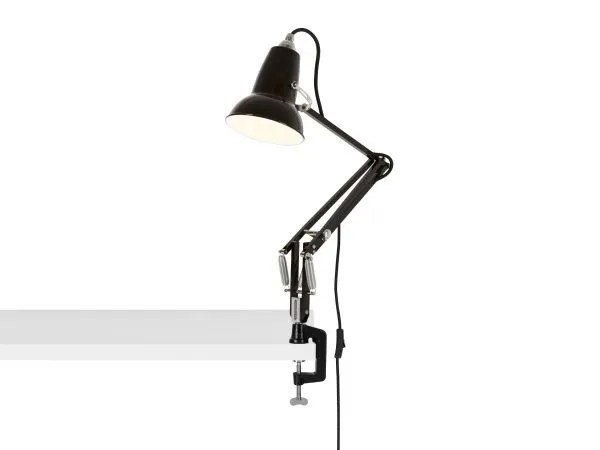 Original 1227 mini bureau klemlamp Jet Black 3