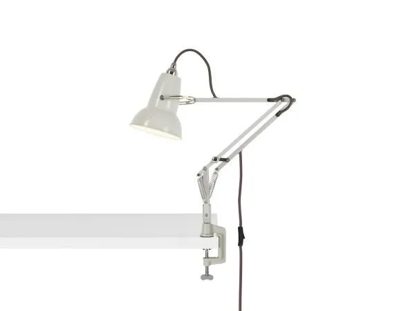Original 1227 Mini bureau klemlamp Linen White 1