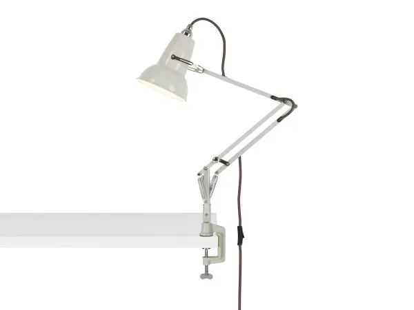 Original 1227 Mini bureau klemlamp linen White 2