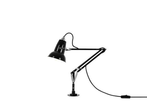 Original 1227 Mini bureau lamp met vaste bevestiging Jet Black 1 Insert