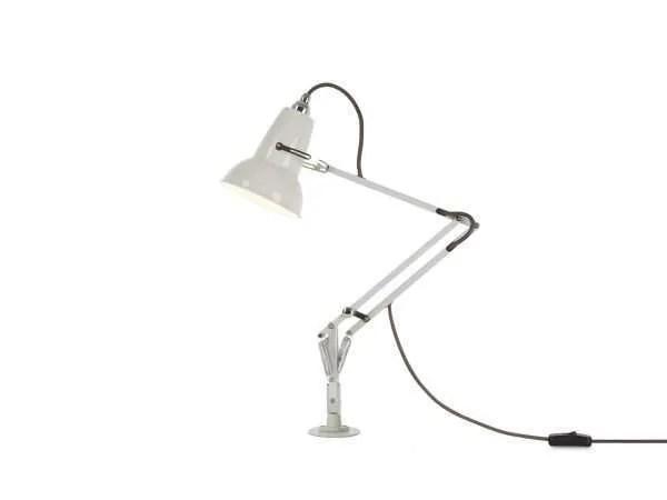 Original 1227 Mini bureaulamp met vaste bevestiging Linen White 2 Insert