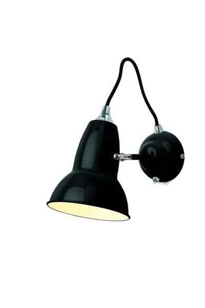 Original 1227 wandlamp anglepoise Jet Black 2