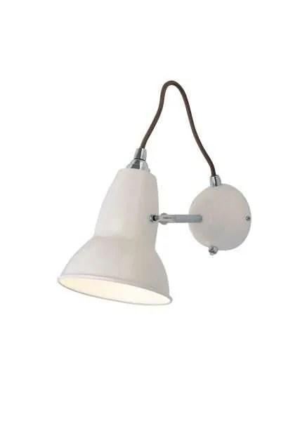 Original 1227 wandlamp anglepoise Linen White 2