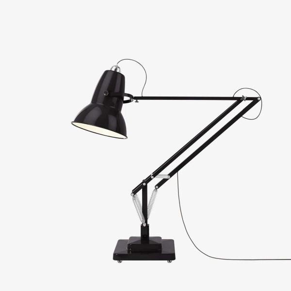 original 1227 anglepoise gigant vloerlamp jet black 2