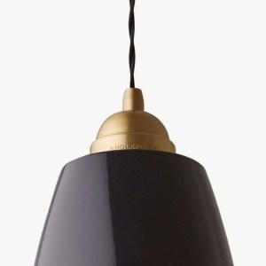 original 1227 brass anglepoise hanglamp maxi jet black detail 1