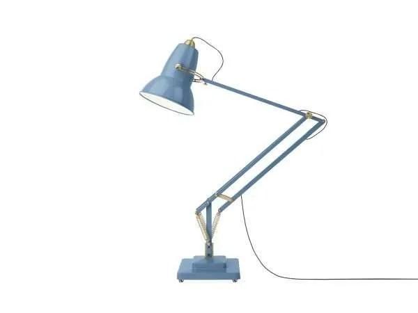 Original-1227-koperen anglepoise-Giant-vloerlamp Dusty Blue 2