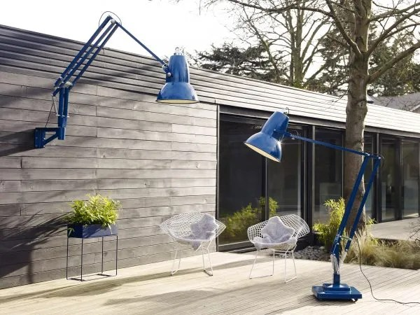 Original 1227 Giant Outdoor Floor & Wall Mounted Lamp - Marine Blue