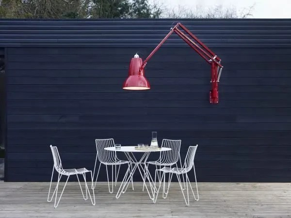 Original 1227 Giant Outdoor Wall Mounted Lamp - Crimson Red 1