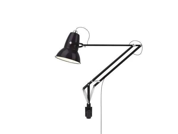 Original 1227 Giant Wall Mounted Lamp Jet Black 1 (Gloss)