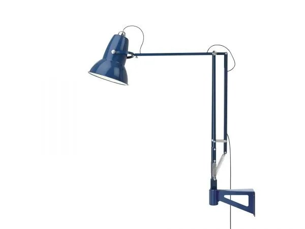 Original 1227 Giant Wall Mounted Lamp Marine Blue 4