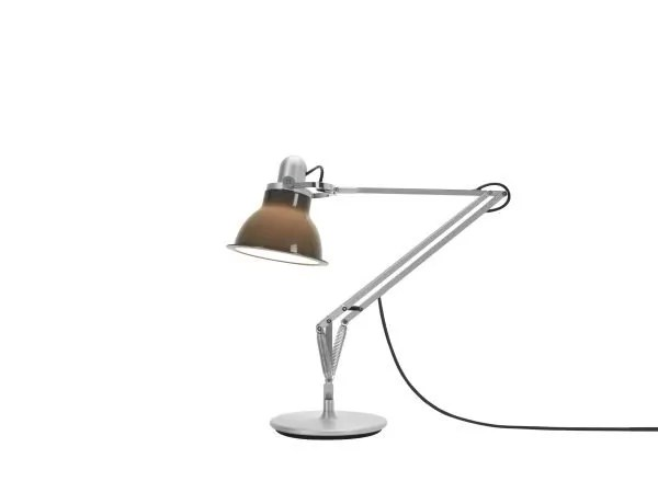 Anglepoise type 1228 Bureaulamp - Granite Grey 1 On