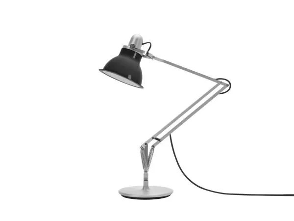 Anglepoise type 1228 Bureaulamp - Granite Grey 2 Off