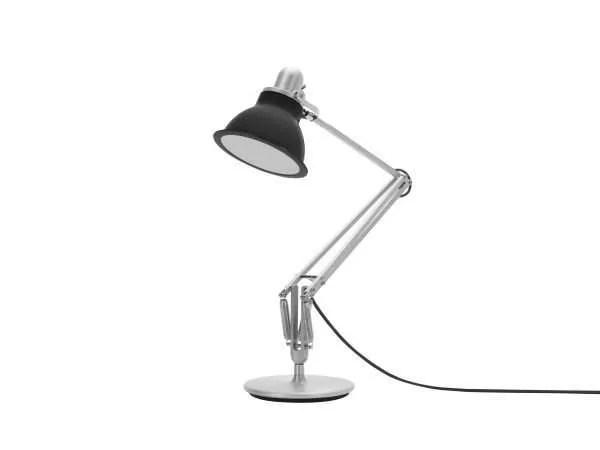 Anglepoise type 1228 Bureaulamp - Granite Grey 3 Off