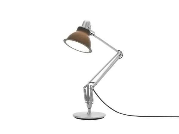Anglepoise type 1228 Bureaulamp - Granite Grey 3 On