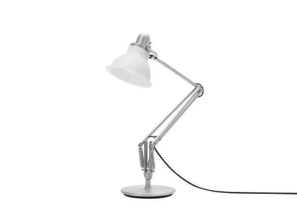 Anglepoise type 1228 Bureaulamp - Ice White 3 Off