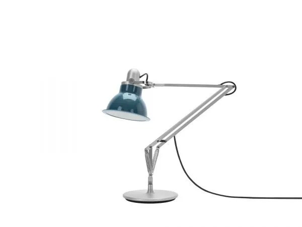 Anglepoise type 1228 Bureaulamp - Ocean Blue 1 Off