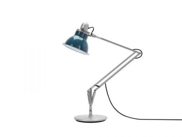 Anglepoise type 1228 Bureaulamp - Ocean Blue 2 Off