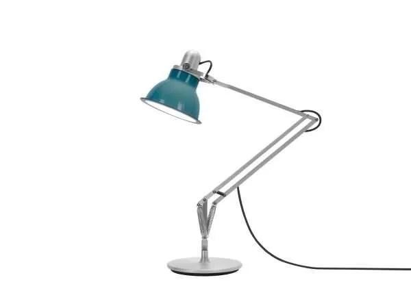 Anglepoise type 1228 Bureaulamp - Ocean Blue 2 On