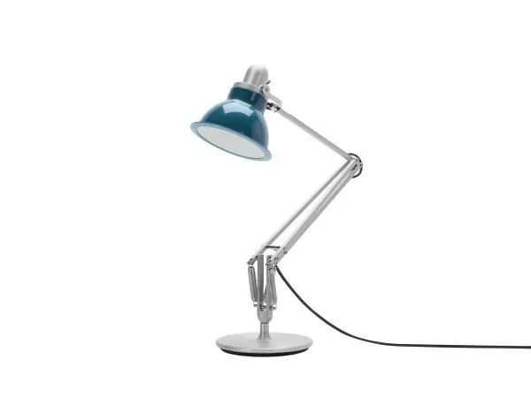 Anglepoise type 1228 Bureaulamp - Ocean Blue 3 Off
