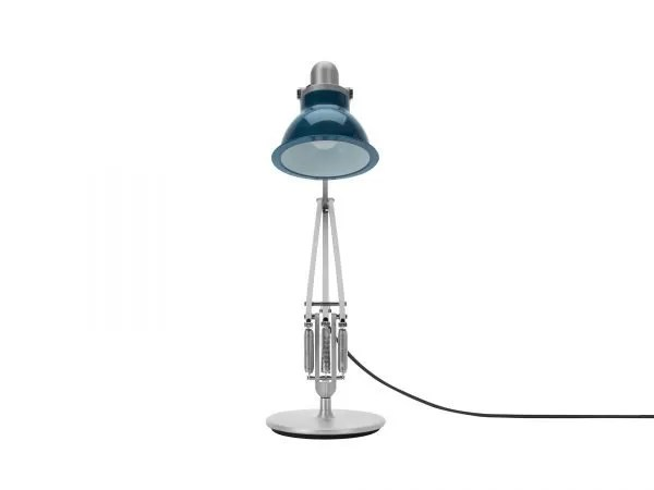 Anglepoise type 1228 Bureaulamp - Ocean Blue 4 Off