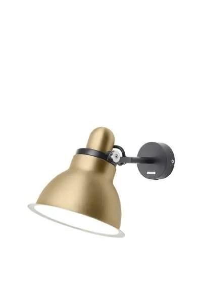 Anglepoise type 1228 Metallic wandlamp spot Gold Lustre 2