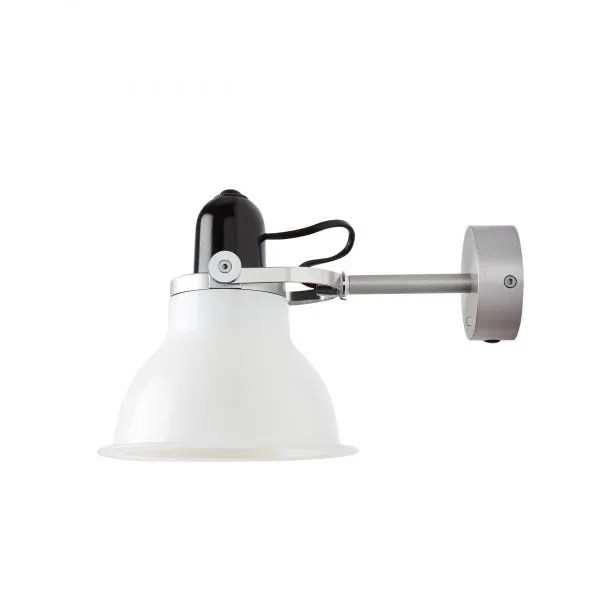 Anglepoise type 1228 Wandlamp spot Ice White 1 Off