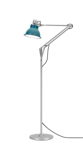 Anglepoise type 1228 vloerlamp Ocean Blue 1 On