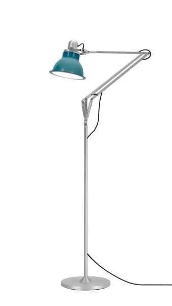 Anglepoise type 1228 vloerlamp Ocean Blue 1 On