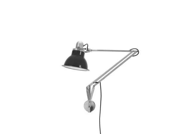 Anglepoise type 1228 wandlamp Granite Grey 1 Off