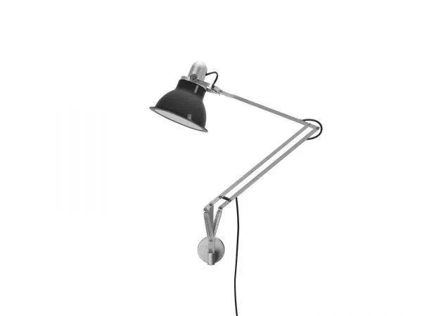 Anglepoise type 1228 wandlamp Granite Grey 2 Off