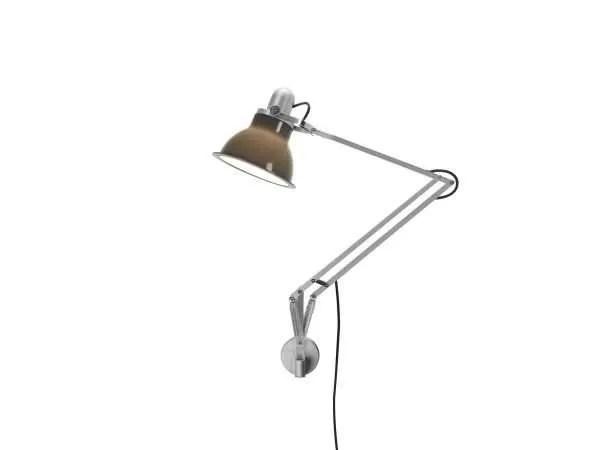 Anglepoise type 1228 wandlamp Granite Grey 2 On