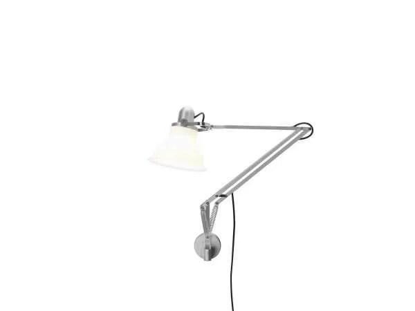 Anglepoise type 1228 wandlamp Ice White 1 On