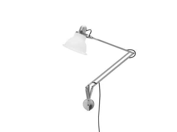 Anglepoise type 1228 wandlamp Ice White 2 Off