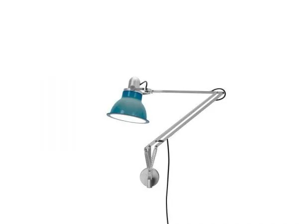 Anglepoise type 1228 wandlamp Ocean Blue 1 On