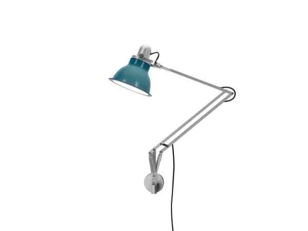 Anglepoise type 1228 wandlamp Ocean Blue 2 On
