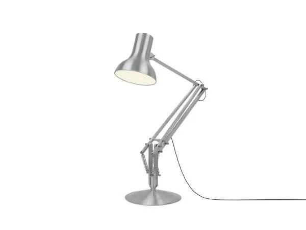 Anglepoise type 75 Gigant vloerlamp Brushed Aluminium 3